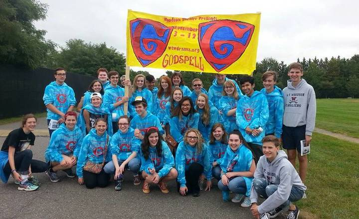 Woodson Drama And Custom Ink Promote Godspell In Homecoming Parade T-Shirt Photo