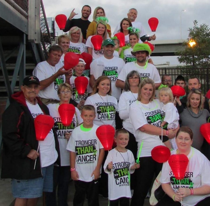 Team Carter Fighting Lymphoma! T-Shirt Photo