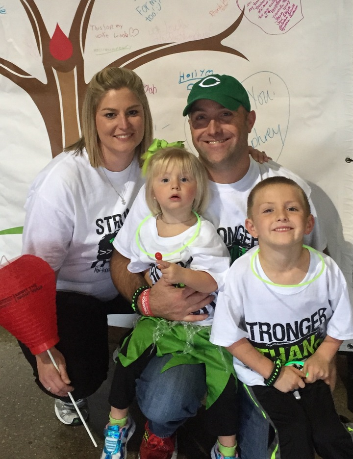 The Carter Family Supporting Our Daddy In His Fight Against Lymphoma! T-Shirt Photo