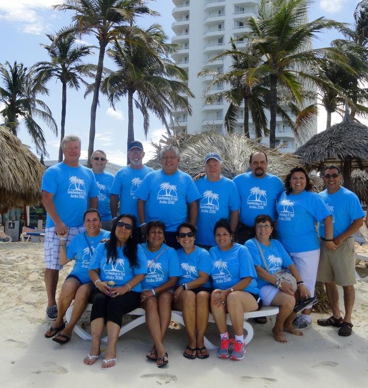 Sanchezing It Up! Aruba 2016 T-Shirt Photo