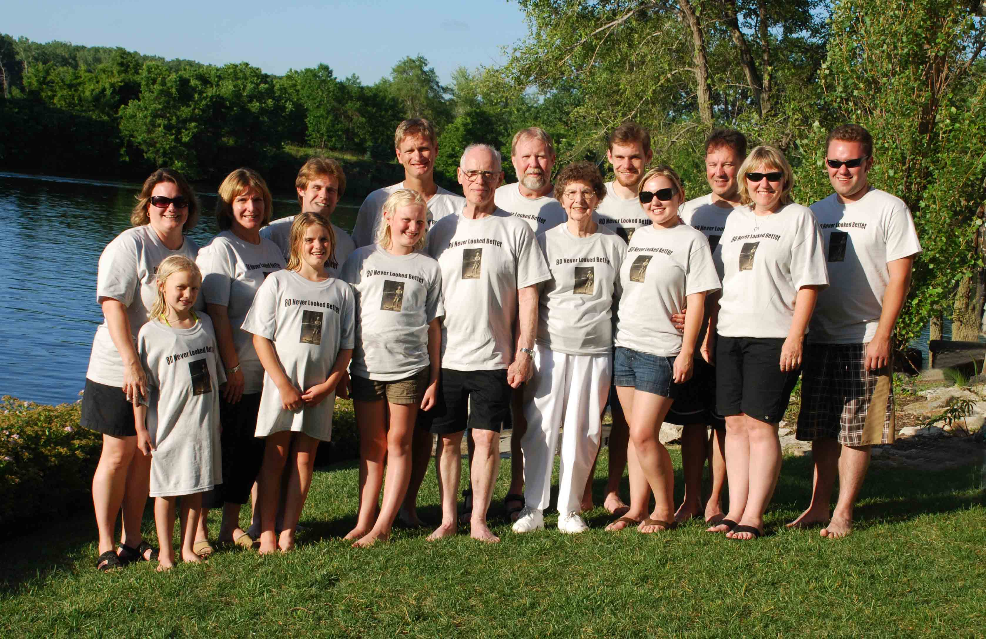 Bobs 80th Birthday T Shirt Photo