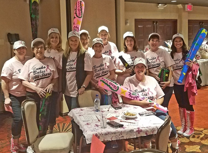 Bunko For Breast Cancer Fundraiser T-Shirt Photo