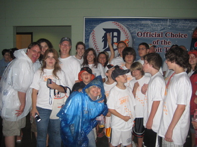Jdrf Tigers Game Event T-Shirt Photo