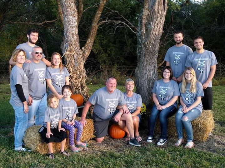Family Pic Retirement And 60th Bday T-Shirt Photo