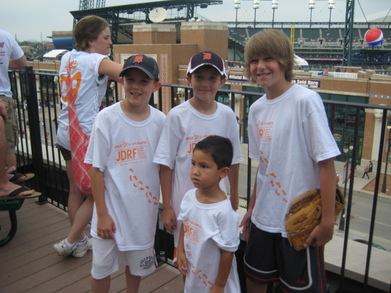 Jdrf Tigers Game T-Shirt Photo