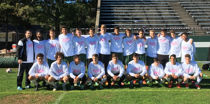 Dhs Soccer Kicks Breast Cancer  T-Shirt Photo