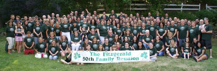 Fitzgerald 50th Family Reunion T-Shirt Photo