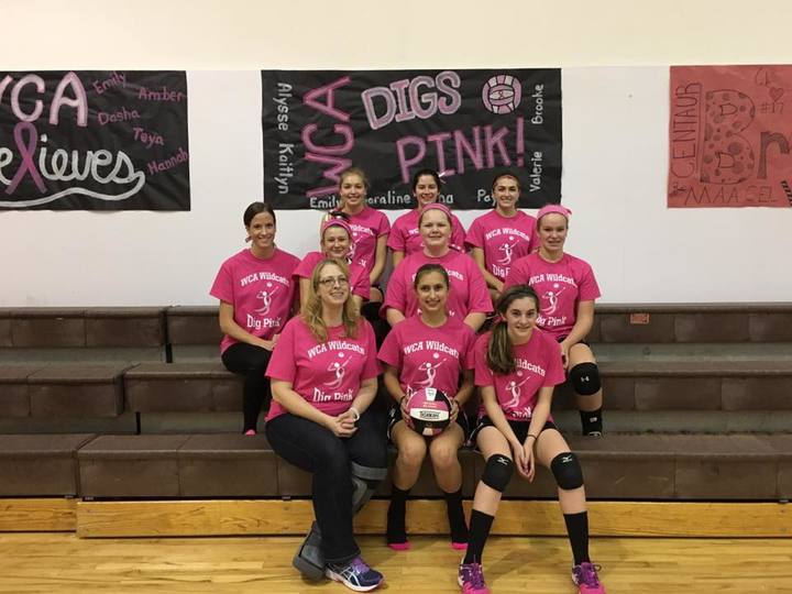 Dig Pink Wca T-Shirt Photo
