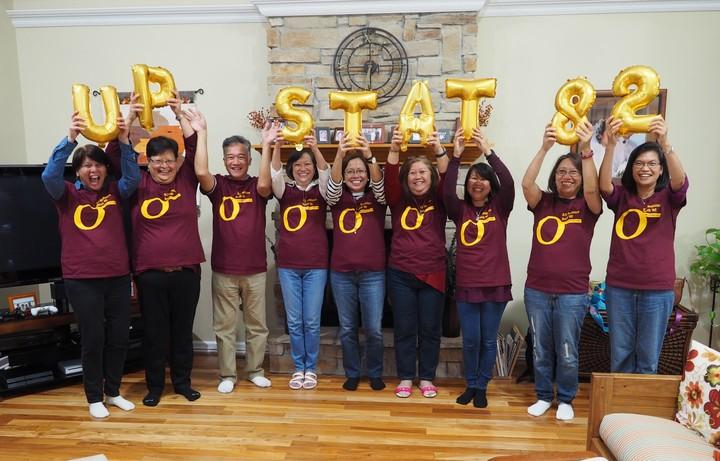 University Of The Philippines, B.S. Statistics Class Of 82 T-Shirt Photo