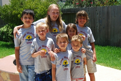 2009 Camp Waterfall T-Shirt Photo