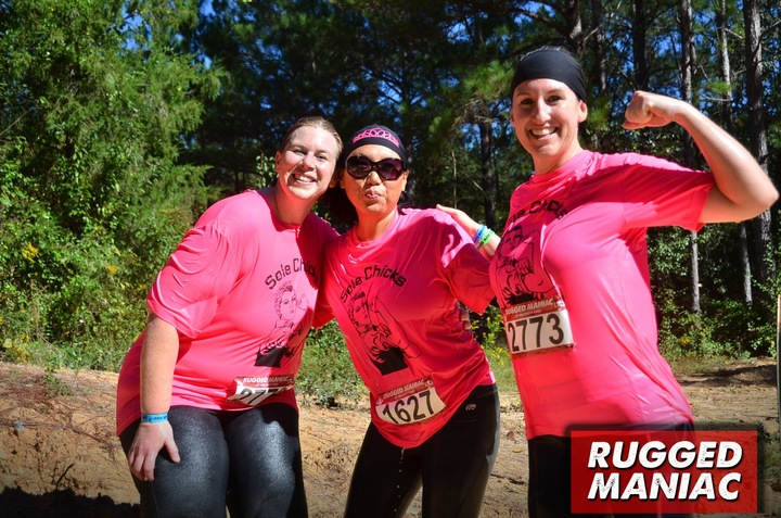 Sole Chicks At The Rugged Maniac T-Shirt Photo