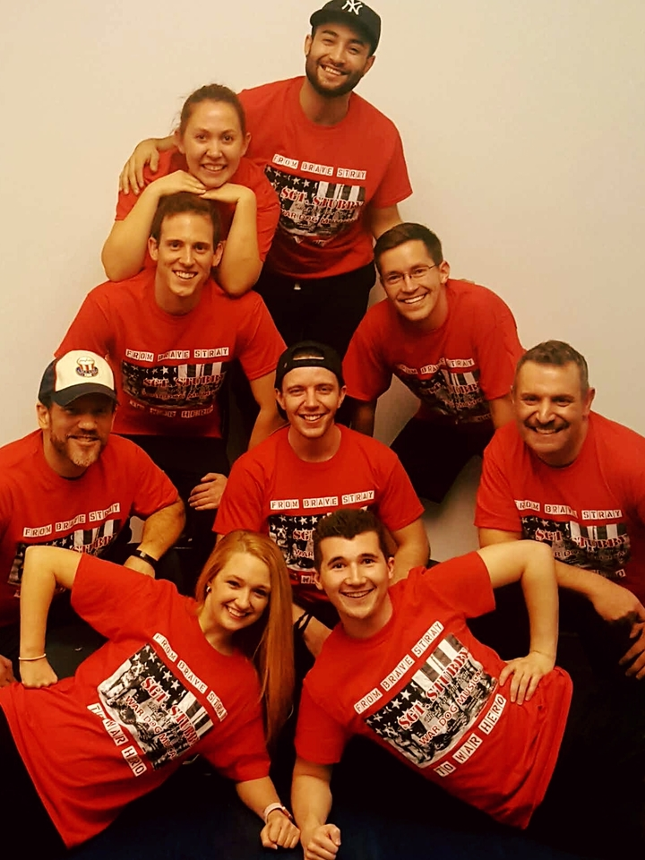 The Cast Is All Here!!! T-Shirt Photo