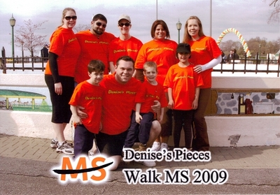 Ms Walk 2009 T-Shirt Photo