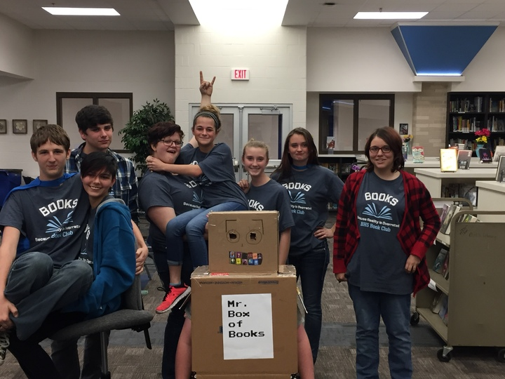 Buna High School Book Club T-Shirt Photo