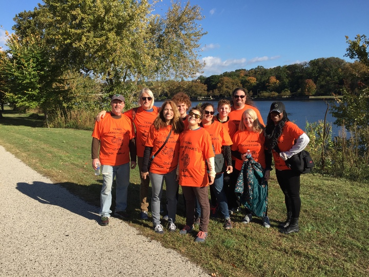 Team Gemstones Proudly Participating In The Jdrf One Walk T-Shirt Photo