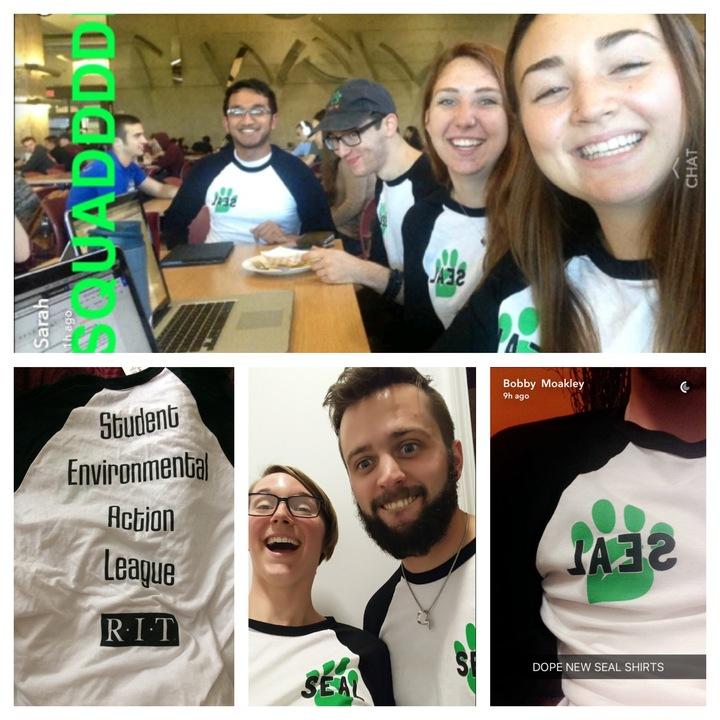 Student Environmental Action League  T-Shirt Photo