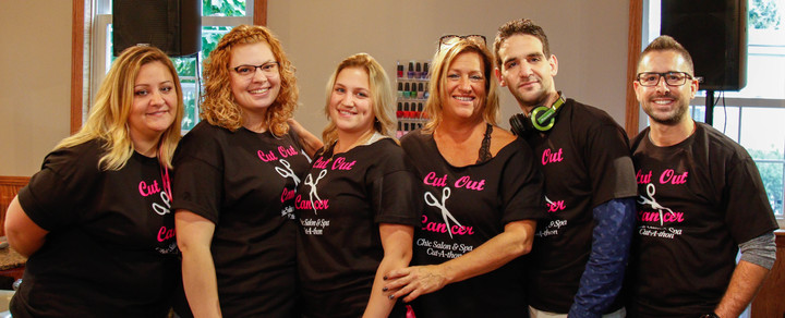 Chìc Salon & Spa Breast Cancer Fundraiser T-Shirt Photo