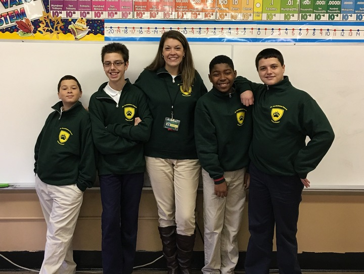 St. Bartholomew School Class Of 2017 T-Shirt Photo