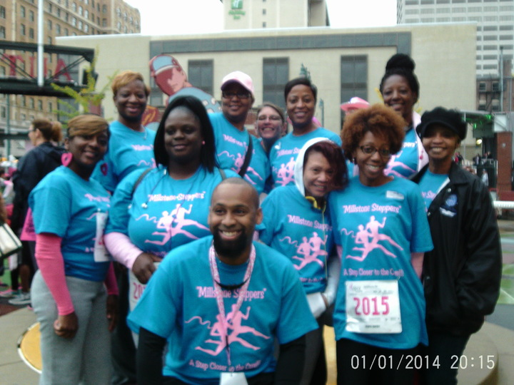 Susan G. Komen Breast Cancer Walk Team Shirts 2015  T-Shirt Photo
