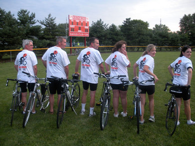Team Renner Bike To The Bay T-Shirt Photo