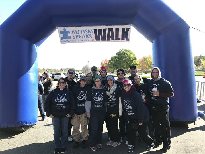 Walking For Autism Speaks T-Shirt Photo