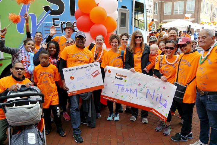 Boston Kidney Walk 2016 T-Shirt Photo