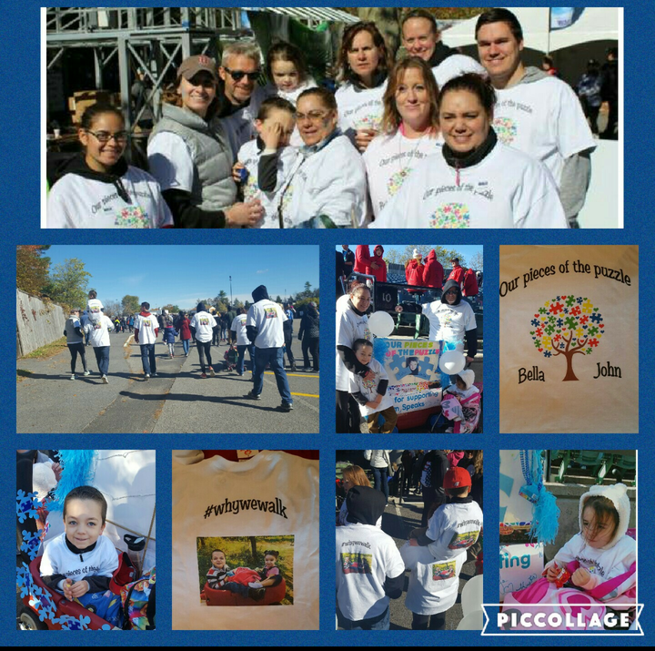 Our Pieces Of The Puzzle  Autism Speaks Walk T-Shirt Photo