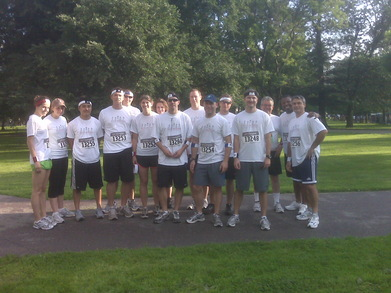 Walsh Brothers Corporate Challenge Team T-Shirt Photo