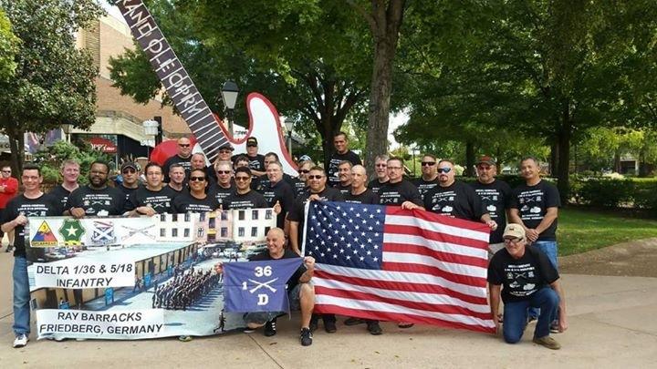 Delta Company 1/36 & 5/18 Infantry T-Shirt Photo