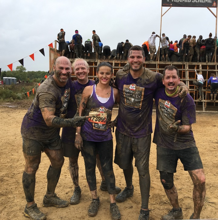 Gentlemen Of The Glass Vs Tough Mudder T-Shirt Photo