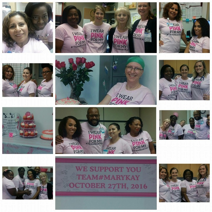 #Team Mary Kay T-Shirt Photo