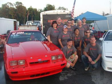 Maryland International Raceway  Pinks All Out 2009 T-Shirt Photo