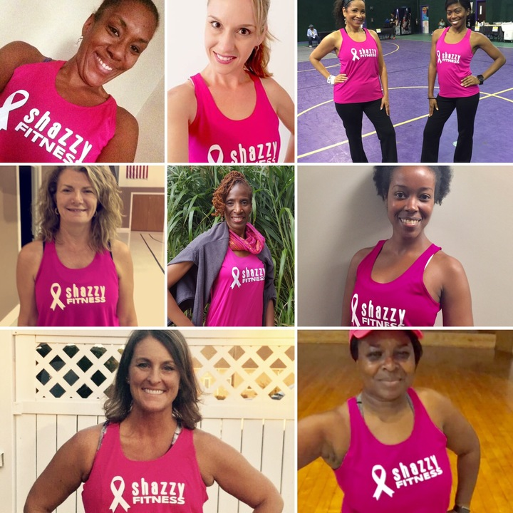 Shazzy Fitness Goes Pink! T-Shirt Photo