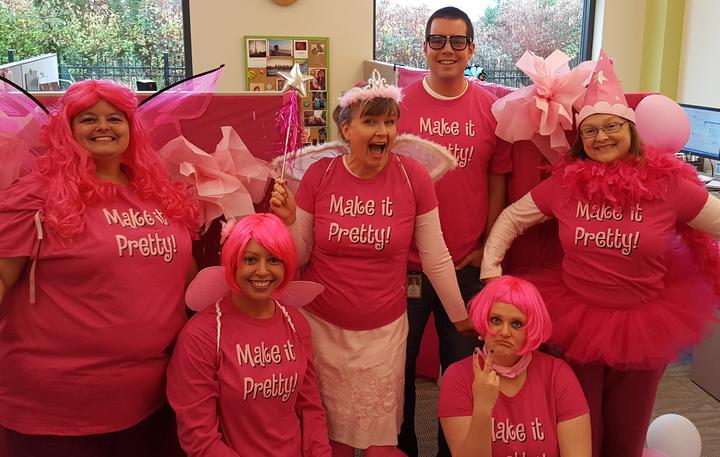The Mar Comm Fairies T-Shirt Photo