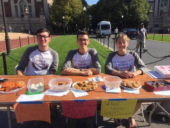Fundraising At Columbia University T-Shirt Photo