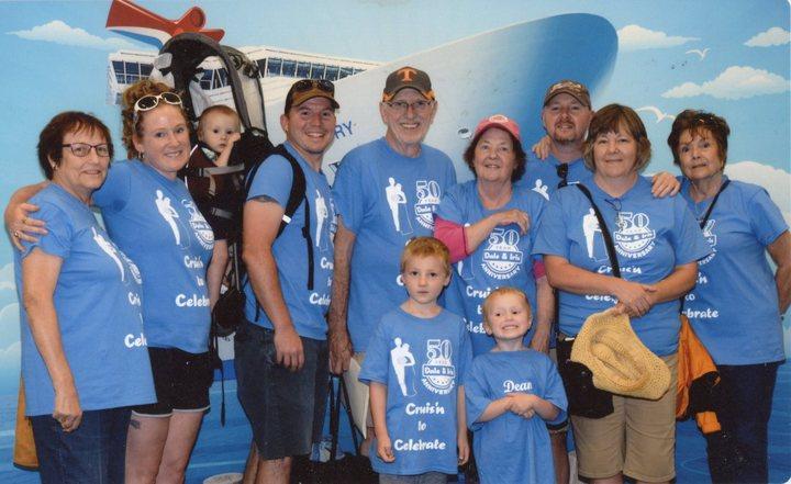 Cruise To Celebrate 50yrs T-Shirt Photo