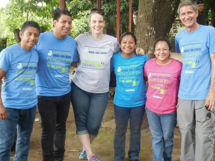 Dos Idiomas In Guatemala T-Shirt Photo