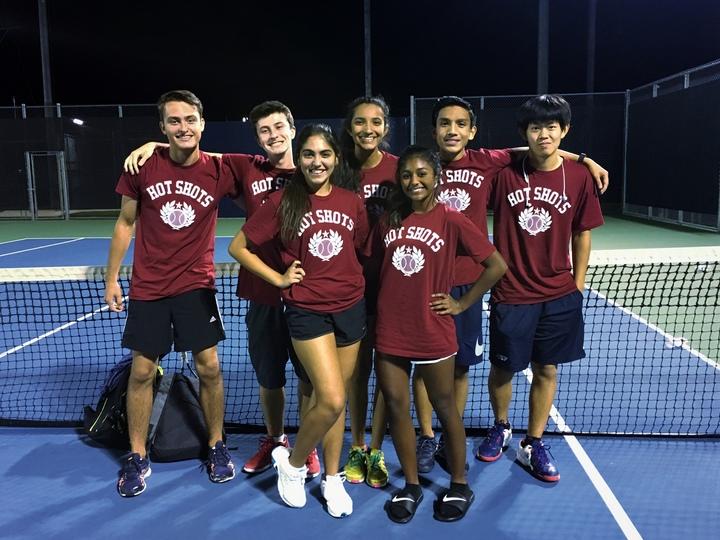 Hot Shots Tennis T-Shirt Photo