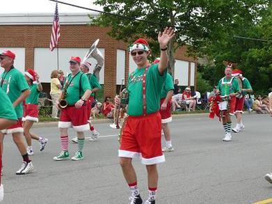 Santa's Goody Bag Band T-Shirt Photo