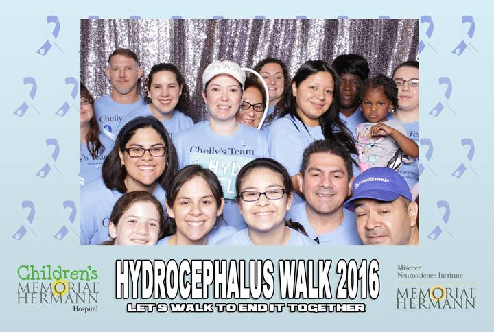 Houston 2016 Hydrocephalus Walk T-Shirt Photo