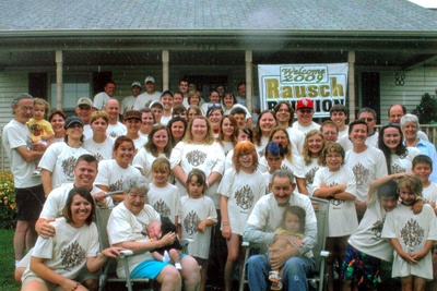 2009 Rausch Family Reunion T-Shirt Photo