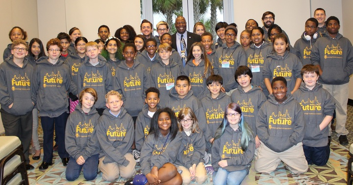 Tucker Middle Students Meet Mayor T-Shirt Photo