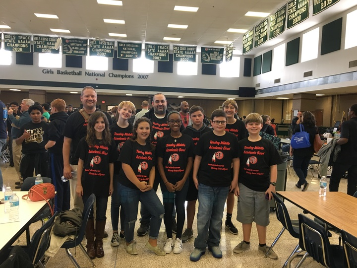 Tms Academic Bowl Team T-Shirt Photo