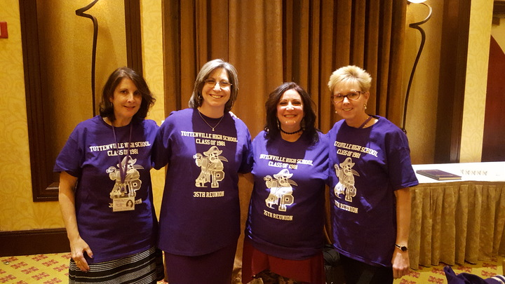 Class Reunion T Shirt Design Ideas tiger cheerleading design Tottenville Hs Class Of 1981 35th Reunion T Shirt Photo