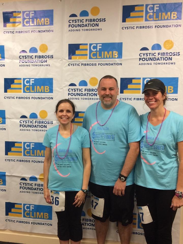 Breath Support At Cf Climb T-Shirt Photo