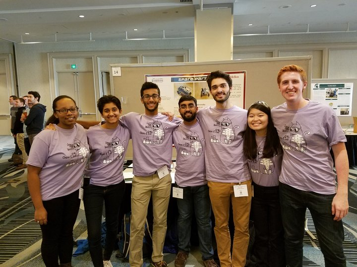 Carnegie Mellon Univeristy Chem E Car Nationals Team T-Shirt Photo