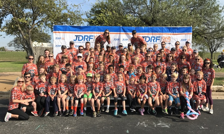 Team Parker Diabetes Walk 2016 T-Shirt Photo