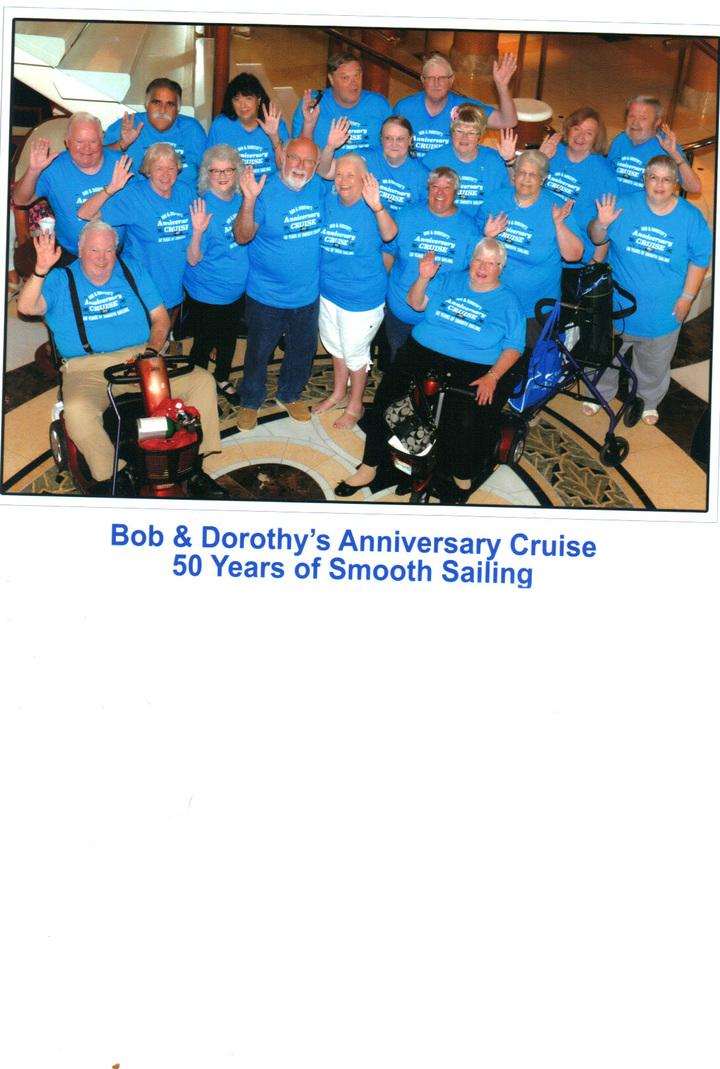 Bob & Dorothy's Anniversary T-Shirt Photo
