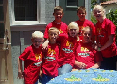 Carpenteria Cousin Camp '09 T-Shirt Photo