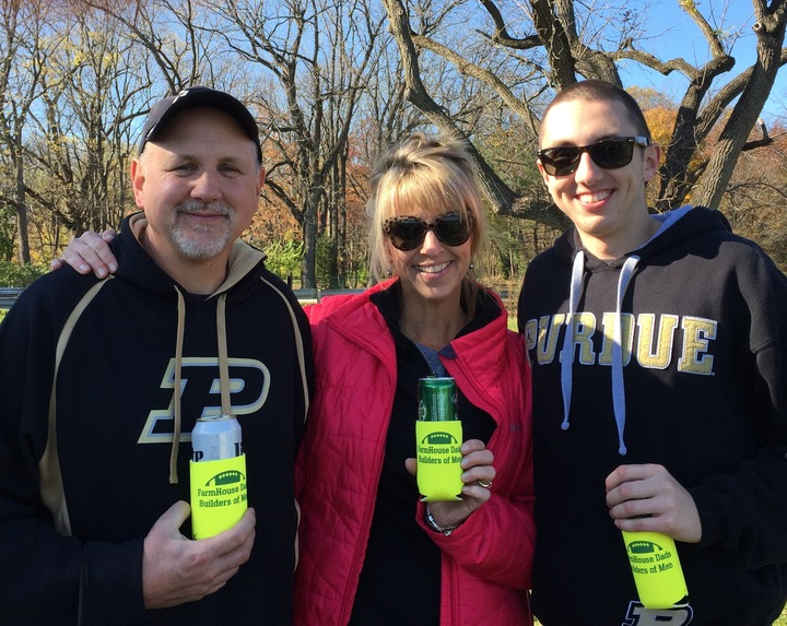 Purdue Univ Farm House Dad's Day Tailgate T-Shirt Photo